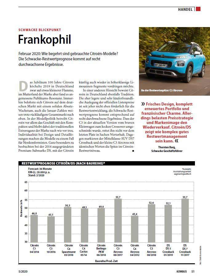 Blickpunkt 5/2020 Autohaus: Citroën